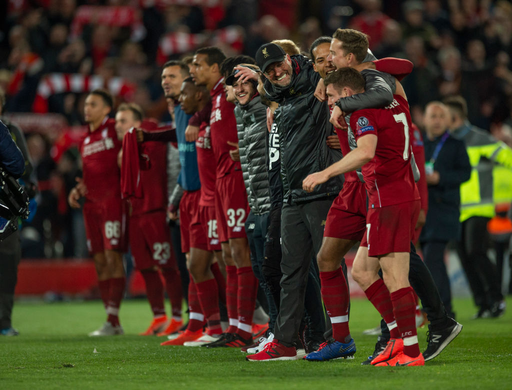 Sterling was 'buzzing' after Liverpool beat Barcelona to reach the Champions League final