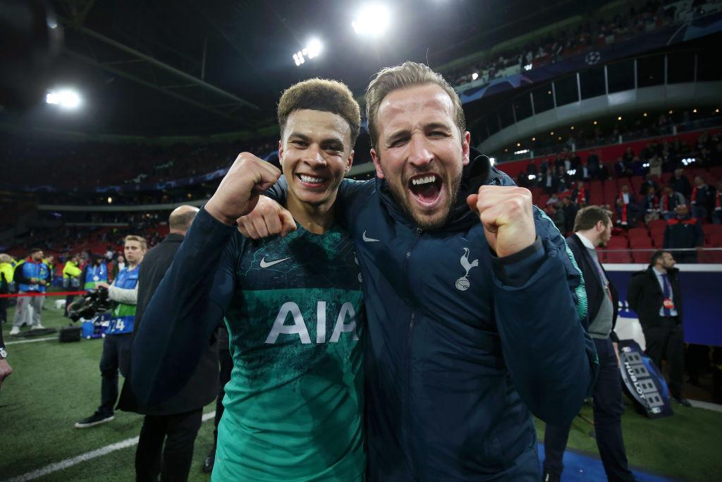Harry Kane went 'mental' at Tottenham players at half-time against Ajax, reveals Kieran Tripper