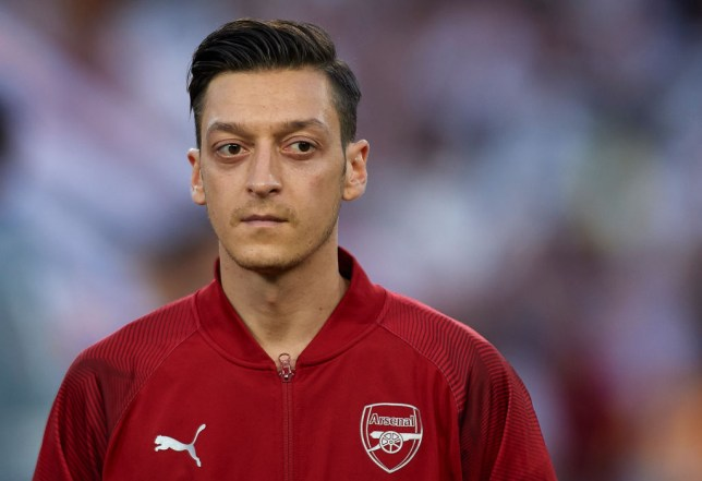 Unai Emery 'under pressure' to sell Mesut Ozil as Arsenal face £50m losses