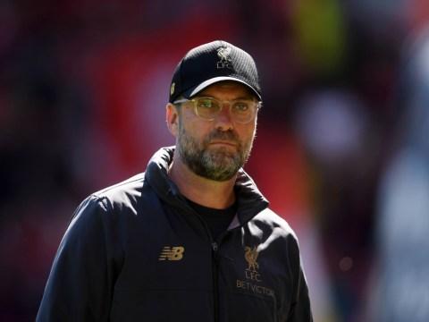 Jamie Carragher suggests a reason for Liverpool boss Jurgen Klopp's bizarre half time habit