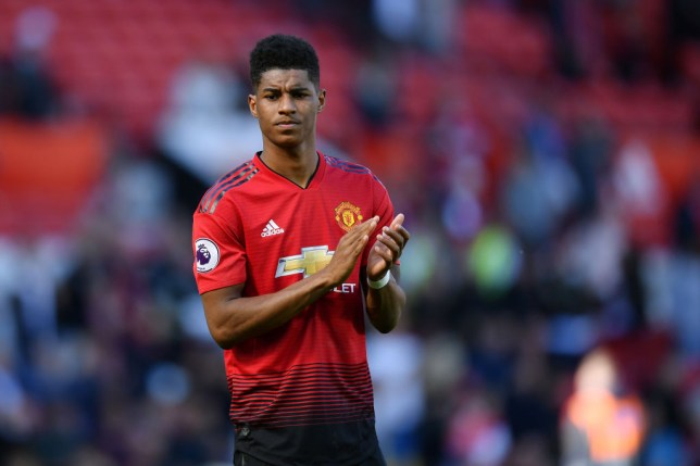 Rashford is yet to commit to a new deal at United