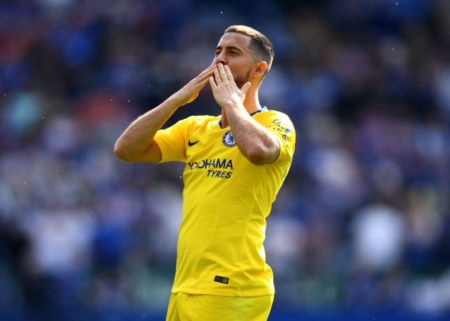 Chelsea star Eden Hazard is being heavily linked with Real Madrid this summer
