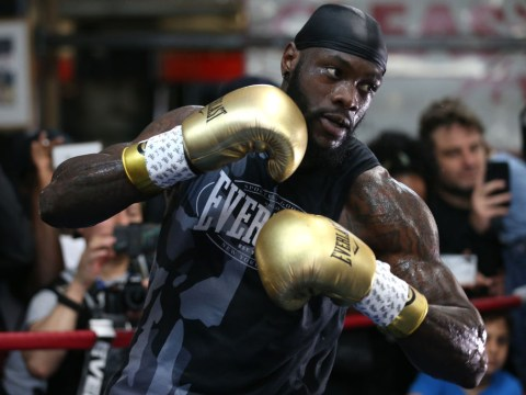 Deontay Wilder issues another death threat to Dominic Breazeale