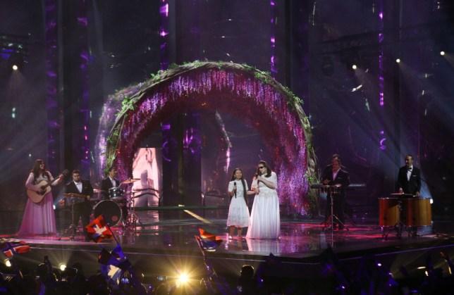 Shalva band at Eurovision