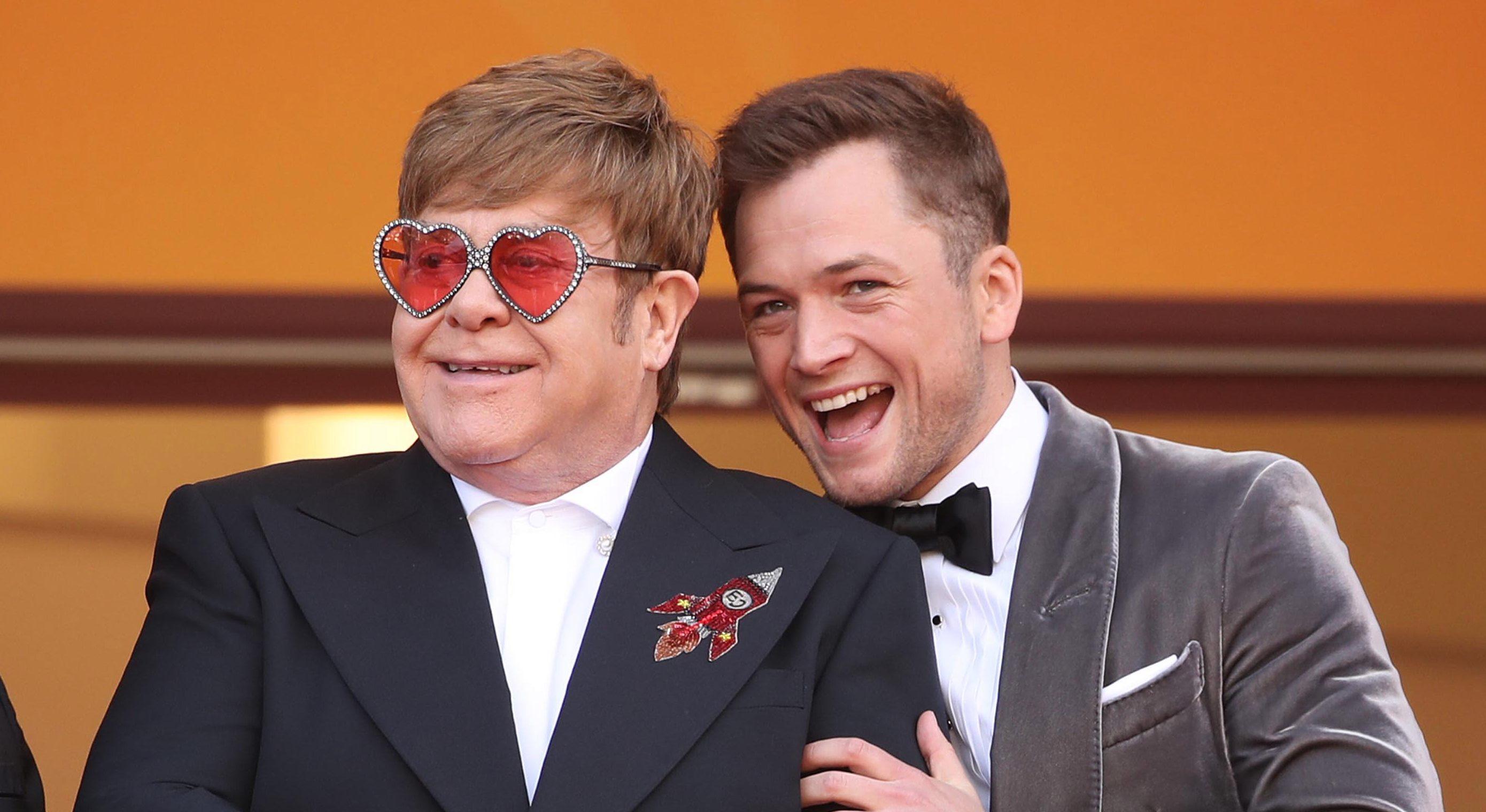 Taron Egerton busted by Elton John's security while raiding singer's fridge