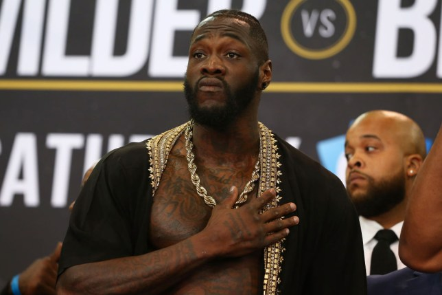 Deontay Wilder rubbishes idea Anthony Joshua should retire if he loses Andy Ruiz rematch