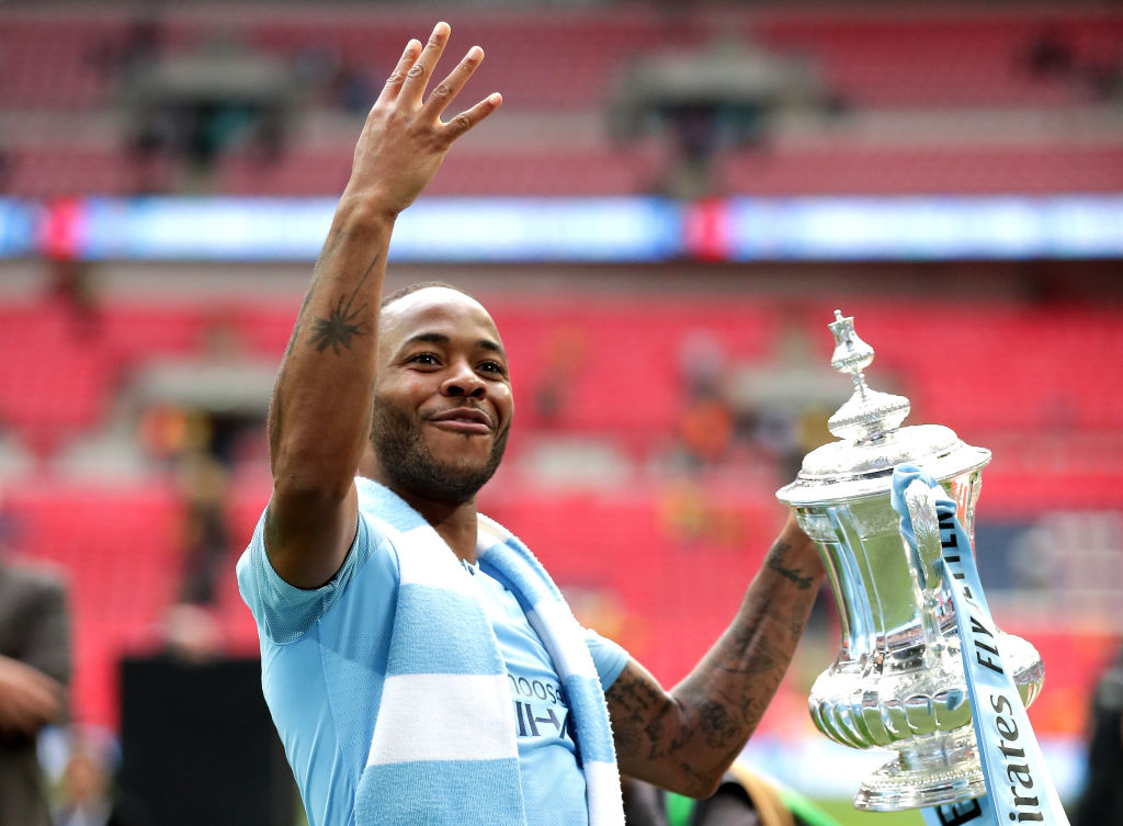 Man City star Raheem Sterling speaks out after 'dream' FA Cup final win over Watford