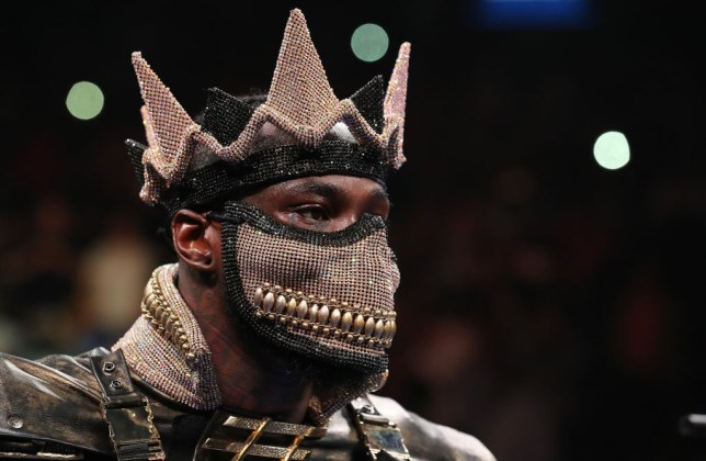 NEW YORK, NEW YORK - MAY 18: Deontay Wilder looks on before facing Dominic Breazeale during their bout for Wilder's WBC heavyweight title at Barclays Center on May 18, 2019 in New York City. (Photo by Al Bello/Getty Images)