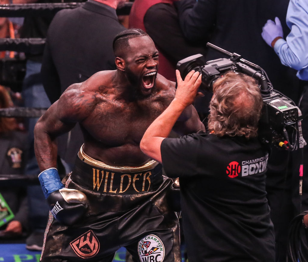 Deontay Wilder expects to deci...