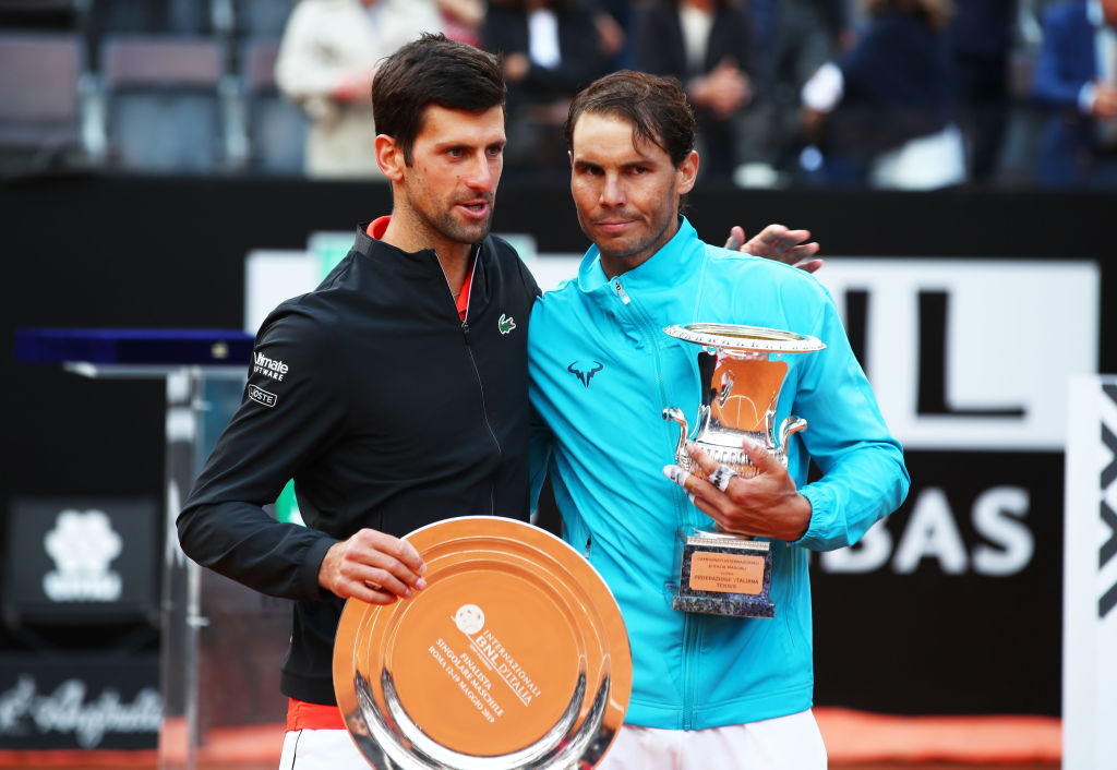 Novak Djokovic makes Rafael Nadal clear favourite for French Open after Italian Open masterclass
