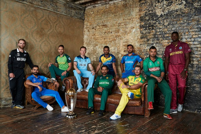 Cricket World Cup England Australia And Pakistan Legends