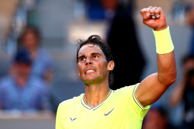 Rafael Nadal gives verdict on his level after dropping first set at the French Open 2019