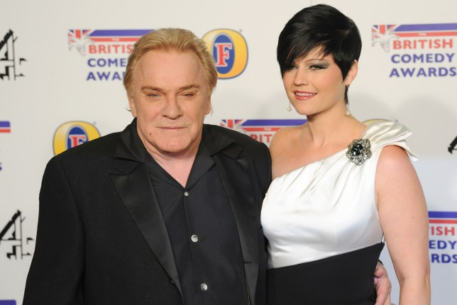 Freddie Starr and his wife Sophie Lea