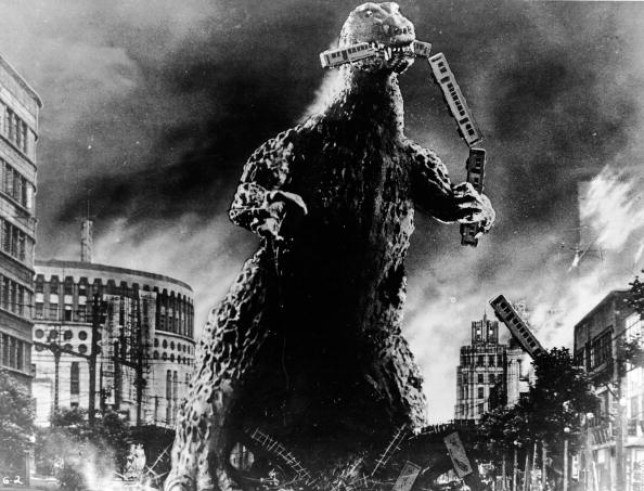 Godzilla has become scarier 'in response to a spike in