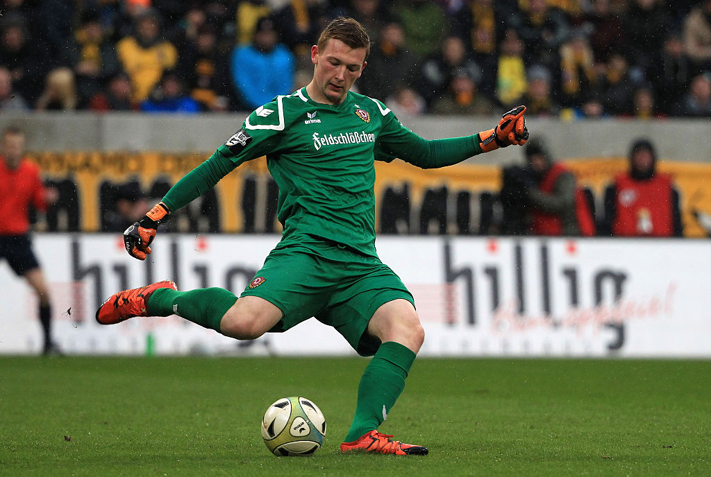 Arsenal eyeing up move for German goalkeeper Markus Schubert to replace the retiring Petr Cech
