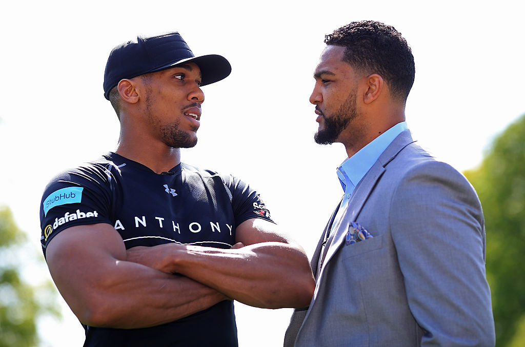 GettyImages-528157942 Dominic Breazeale wants Anthony Joshua rematch next if he beats Deontay Wilder