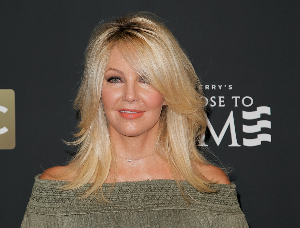 Heather Locklear on the red carpet