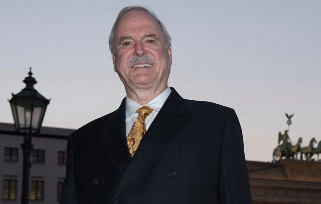 Fawlty Towers actor and comedian John Cleese