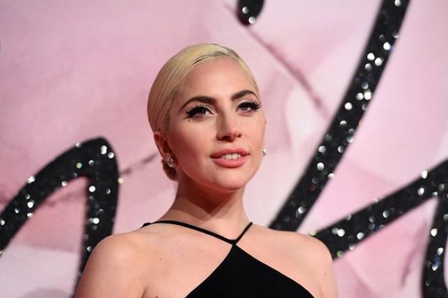 Lady Gaga at the 2016 Fashion Awards