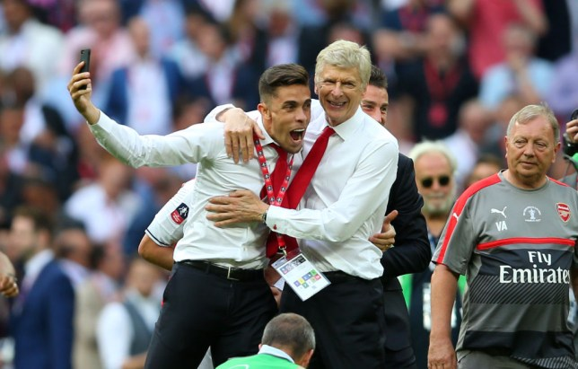 Gabriel Paulista missed Arsenal's FA Cup final win over Chelsea in 2017 through injury