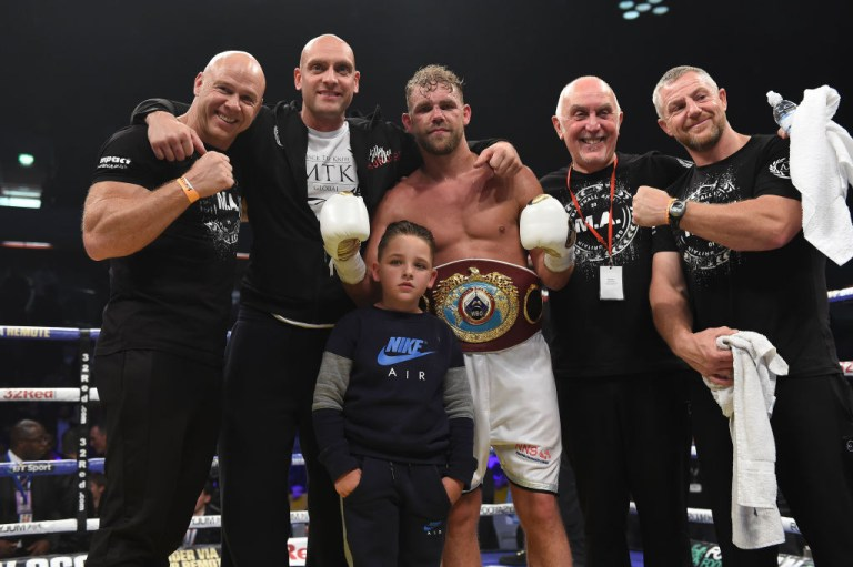Billy Joe Saunders relinquished his WBO world title in the wake of a drugs scandal