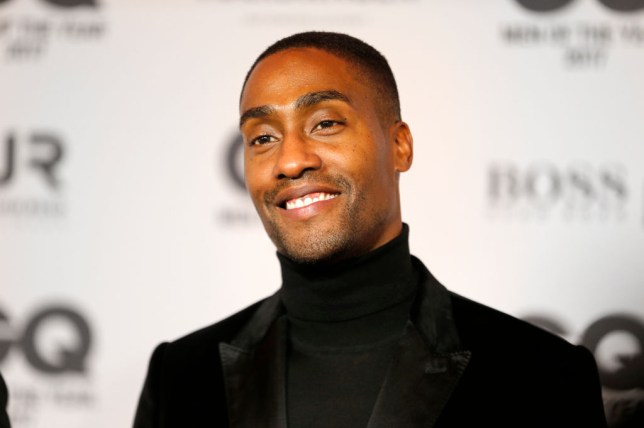 Simon Webbe at the GQ Awards