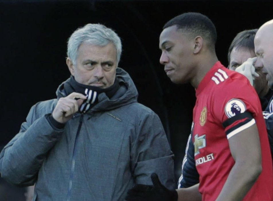 Jose Mourinho hopes Anthony Martial 'reaches real potential' after underwhelming season for Man Utd