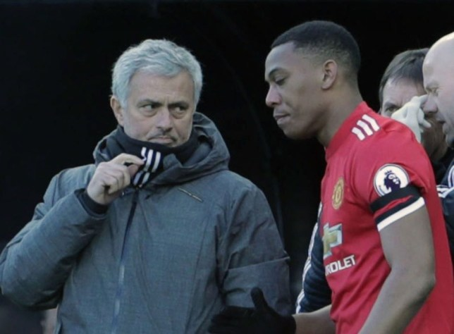 Jose Mourinho sends message to Anthony Martial after disappointing season for Man Utd