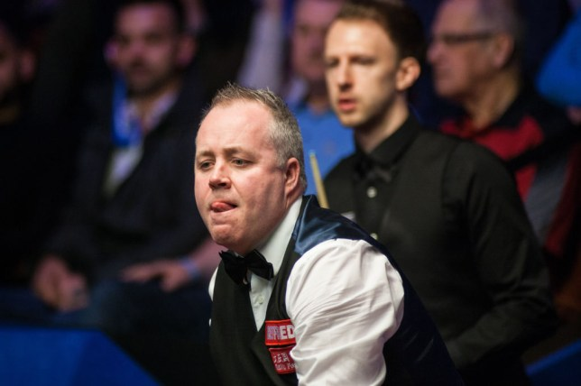 Judd Trump and John Higgins