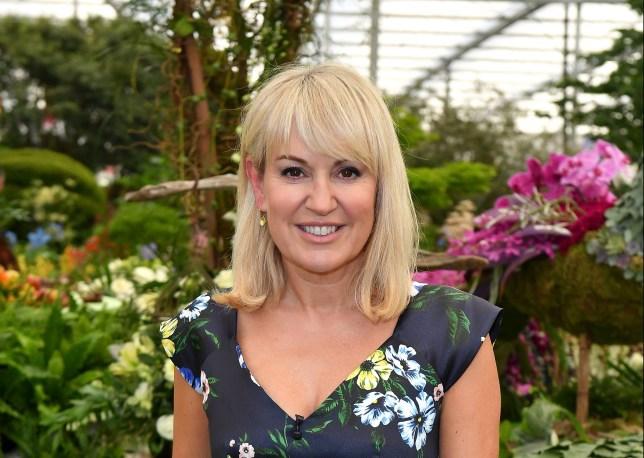 TV Presenter Nicki Chapman attends the Chelsea Flower Show 2018 o