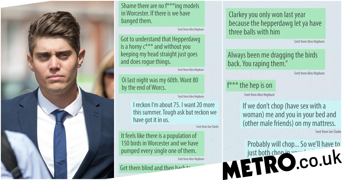 Disgusting messages sent by 'arrogant' rapist cricketer in WhatsApp