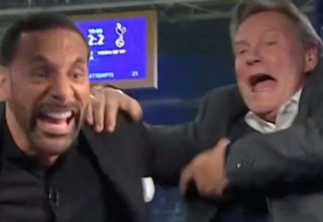 Glenn Hoddle and Rio Ferdinand lost the plot after Lucas Moura's injury time goal against Ajax