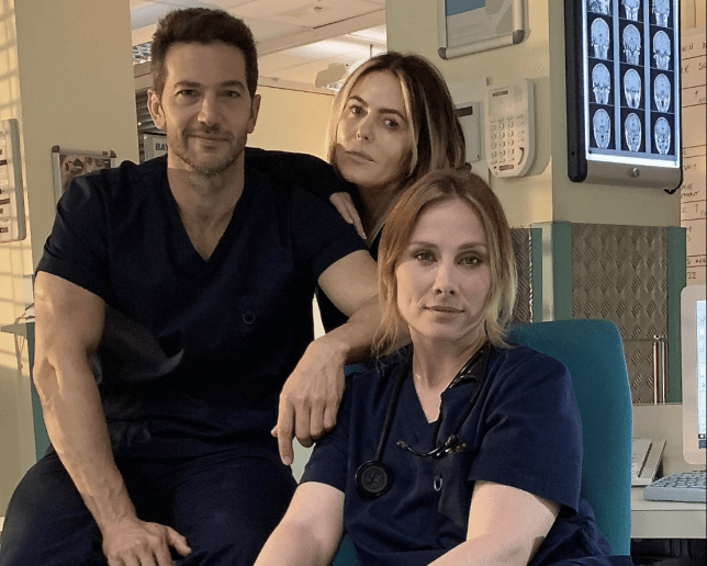 Patsy Kensit back in Holby City