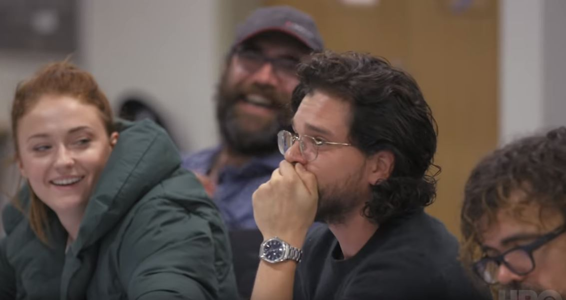 Here's the moment which caused Kit Harington to cry at the Game of Thrones season 8 table read