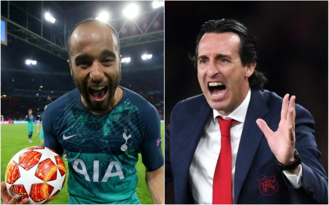 Unai Emery has been rinsed for selling Lucas Moura to Spurs