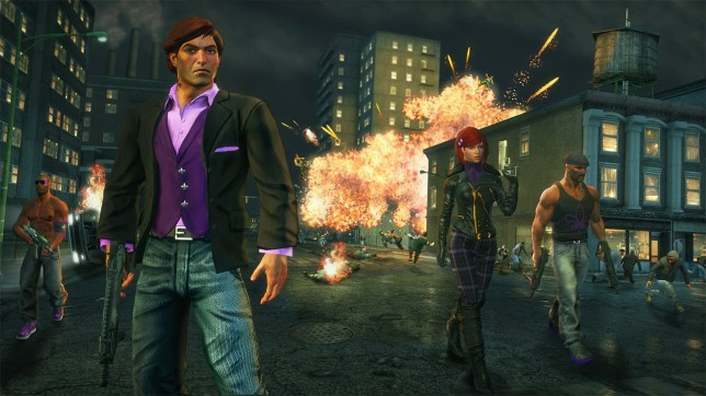 Saints Row: The Third - The Full Package (NS) - not worth switching on