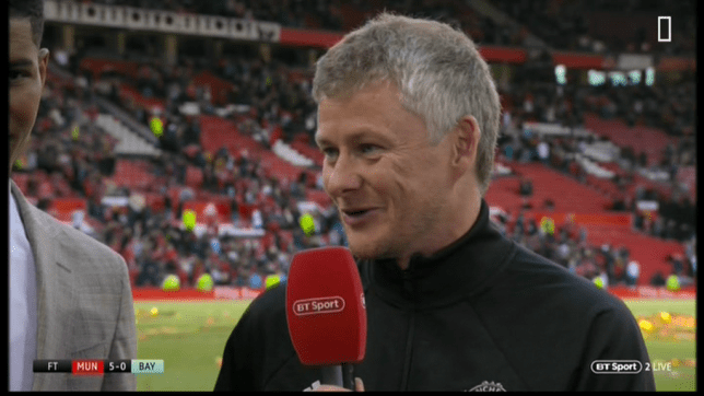 Ole Gunnar Solskjaer highlighted Manchester United's weak defence