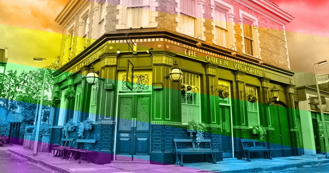 EastEnders hosts first ever Gay Pride march