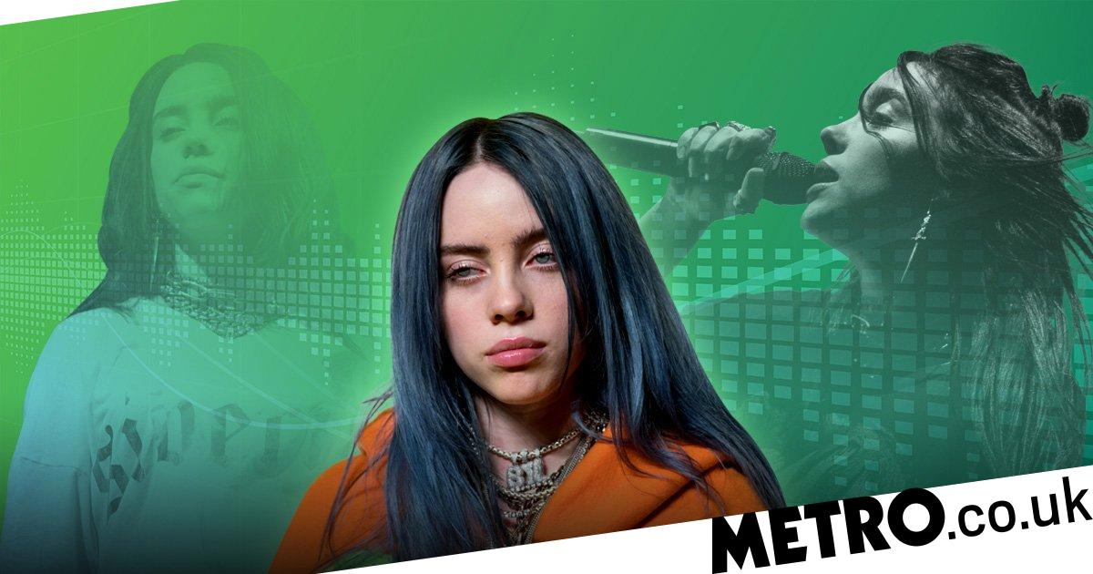 df8a93634b4 Billie Eilish is single-handledly  saving music   From celebrity followers  to calling out fans who grab her boobs