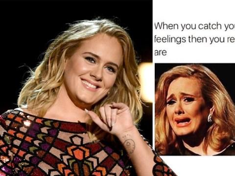 Adele breaks silence amid Simon Konecki divorce with brilliant meme about feelings