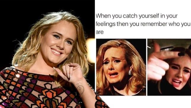 Adele shares funny meme amid her divorce from Simon Konecki