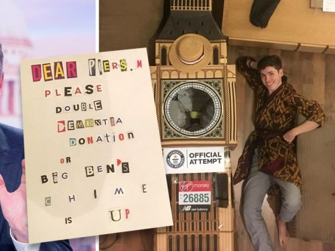 Big Ben marathon outfit held for ransom after going missing from the pub