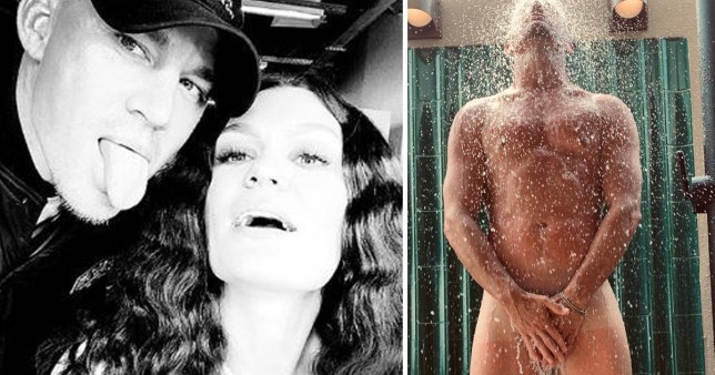 Channing Tatum pictured naked with girlfriend Jessie J