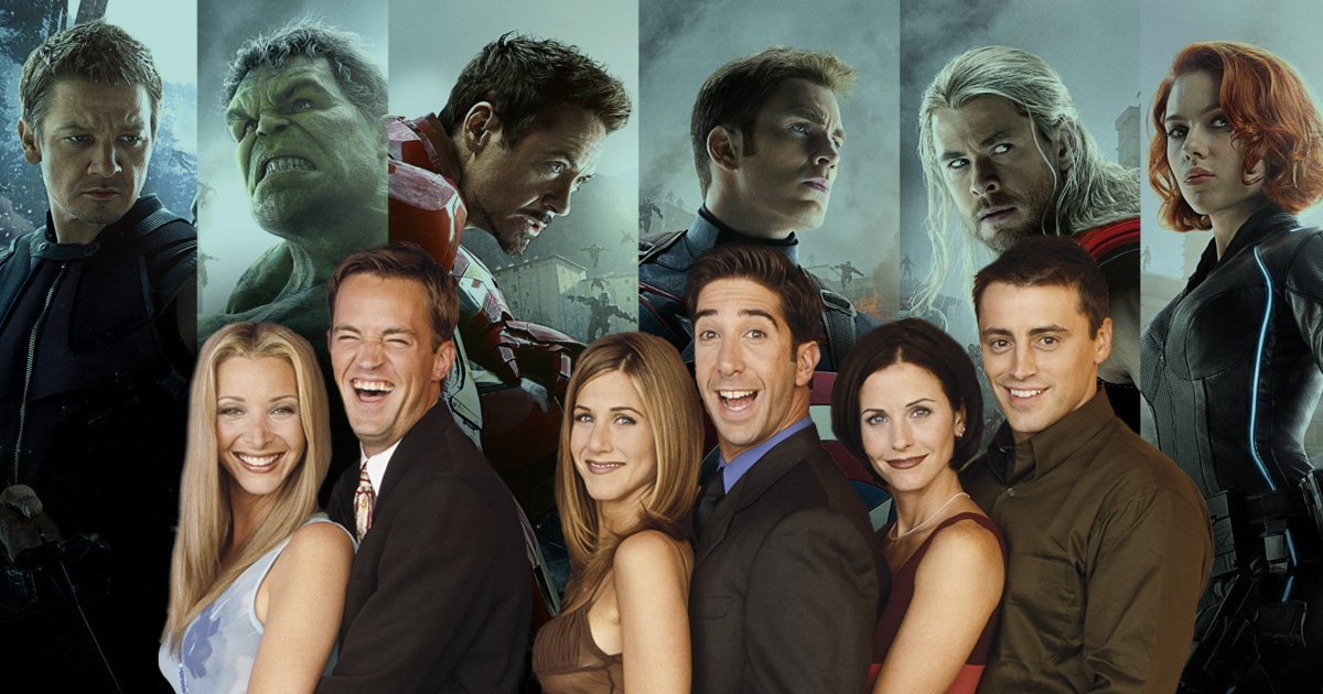 If the Friends characters were Avengers who would each person be?