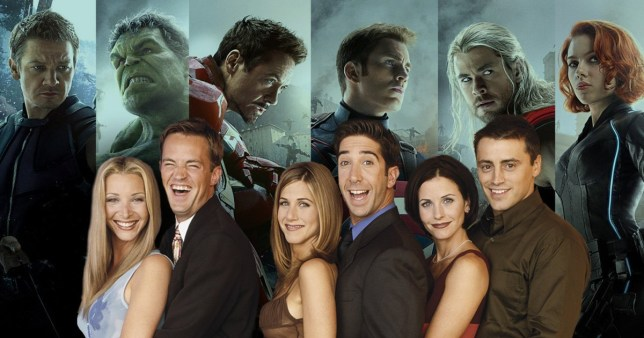 If the Friends were Avengers who would each character be
