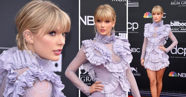 Taylor Swift stuns on Billboard Music Awards 2019 red carpet