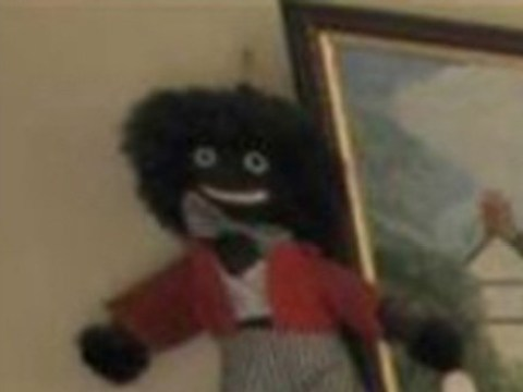 Homeowner forgets to remove golliwog from pictures while selling house