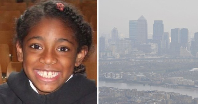 Ella Kissi-Debrah died from an asthma attack, which may have been caused by pollution in London