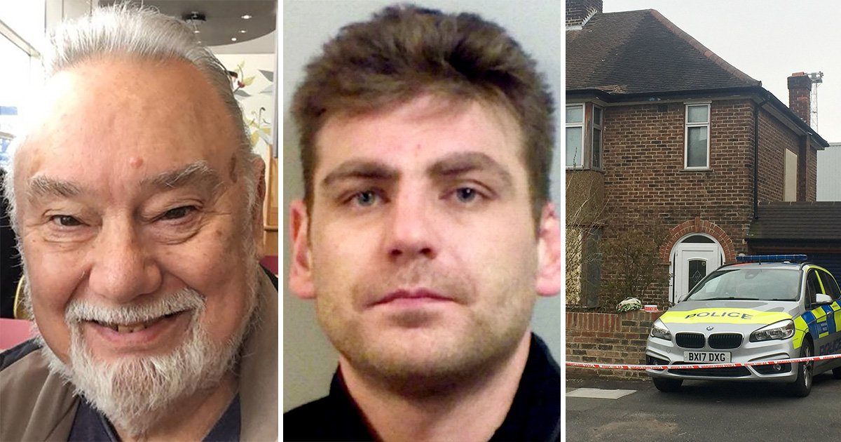'Terrified' pensioner stabbed burglar to 'protect his wife'