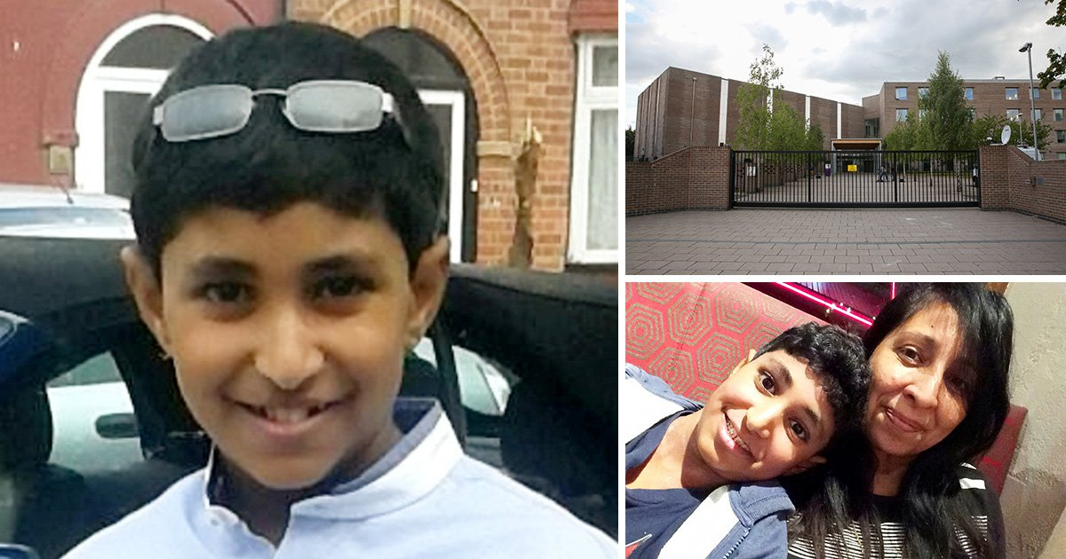 Karanbir Cheema died after another pupil flicked cheese onto his neck